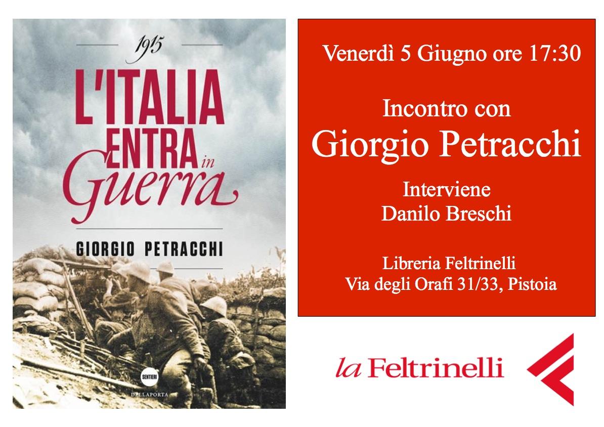Anteprima nazionale alla Libreria Feltrinelli di Pistoia